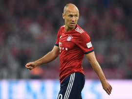 Robben came off the bench to score against Hoffenheim on Friday. AFP