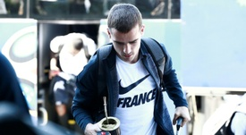 Griezmann has an affinity for Uruguay. AFP