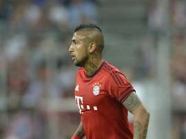 Chilean midfielder Arturo Vidal is a new signing for Bayern Munich