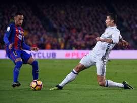 Tebas milite pour un retour de Neymar et Ronaldo en Liga. AFP