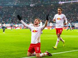 Werner scored again. AFP