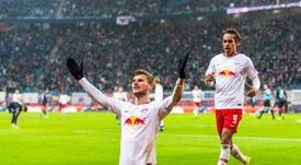 Werner, más cerca del Bayern. AFP