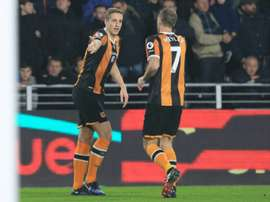 Dawson (L) is an injury doubt while Meyler (R) is likely to be used as a makeshift full-back. AFP