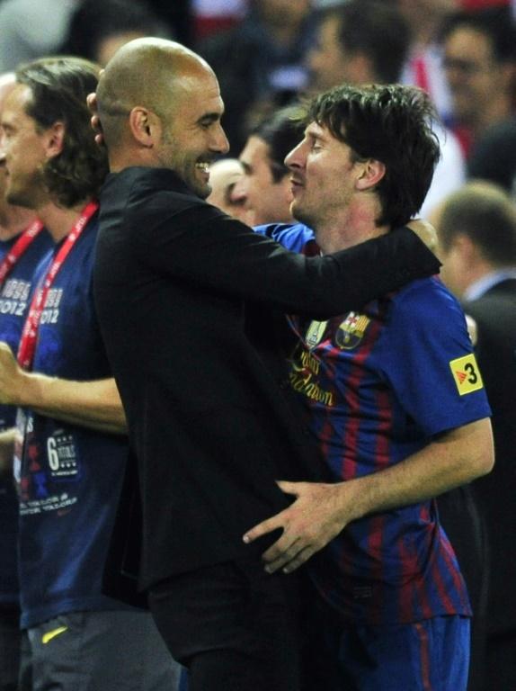 Guardiola recebe uma dura crítica. AFP