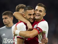Ajax see off PAOK to make Champions League playoffs. AFP