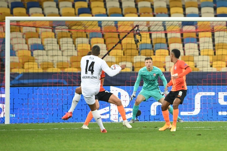Gladbach Hit Shakhtar For Six In Champions League Besoccer