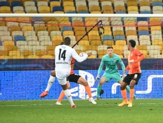 Alassane Plea hit a hat-trick as Gladbach thrashed Shakhtar 0-6- AFP