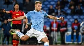 Immobile sueña con retirarse en la Lazio. AFP