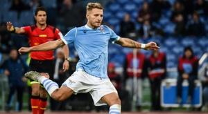 Lazio move third in Serie A as Cagliari dream of Europe. AFP