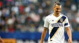Ibrahimovic is thinking of a return to Serie A after leaving LA Galaxy. AFP