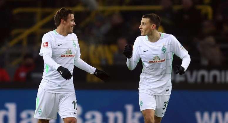 Kruse lleva una racha de cuatro partidos seguidos marcando en la Bundesliga. AFP