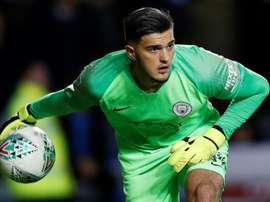City enverra l'un de ses gardiens à Nottingham Forest. AFP