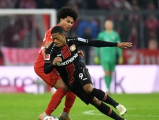Bailey got a double for Leverkusen to down Bayern Munich at the Allianz Arena. AFP
