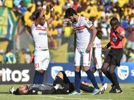 El Zamalek ya ha visto pasar a seis técnicos este año. AFP