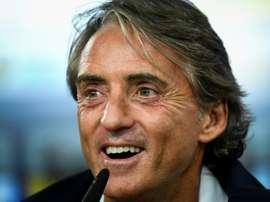 Mancini hará cambios. AFP/Archivo