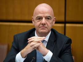 Gianni Infantino assumed office as FIFA president in February 2016. AFP