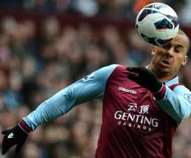 Gabriel Agbonlahor has decided to stand down as captain of relegated Premier League club Aston Villa
