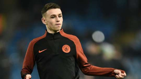 Guardiola called for patience with Foden. AFP