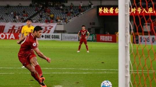Hulk fait oublier Paulinho. AFP