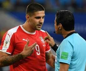 Fulham veut 45 millions pour Mitrovic. AFP