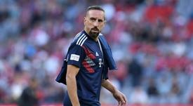 Ribéry suena para abandonar el Bayern. AFP