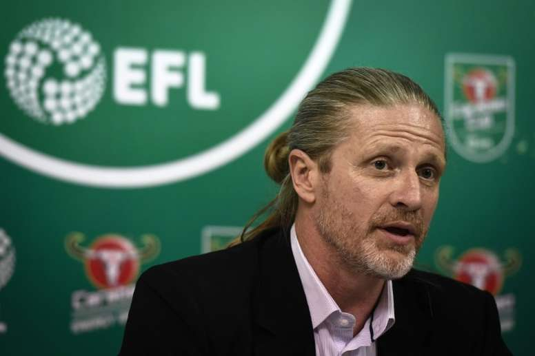 Emmanuel Petit claims he suffered racism while at Barca. AFP