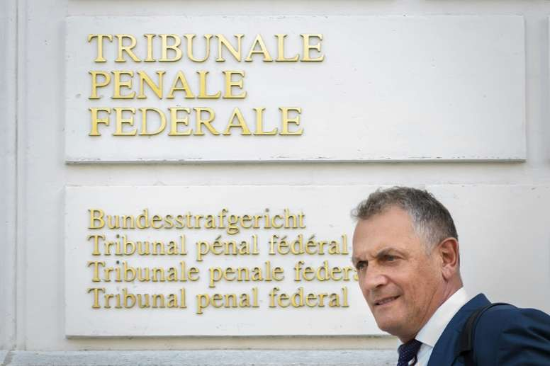 Valcke said he was struggling 'with no income'. AFP