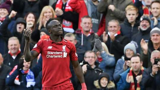 Mane scored twice. AFP