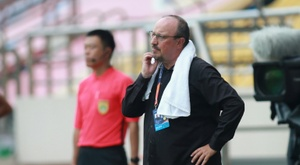 Benitez kept his side up. AFP