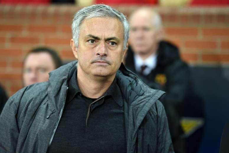Manchester United não quer ver Mourinho deixar o clube. AFP
