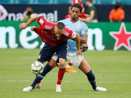 Manchester City Douglas Luiz International Champions Cup. AFP