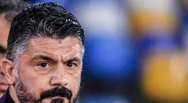 Pour Gattuso, il est impossible de stopper Messi. afp