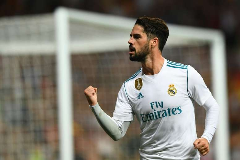 Isco a toujours aimé Messi. AFP