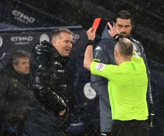 Villa boss Smith to serve touchline ban. AFP