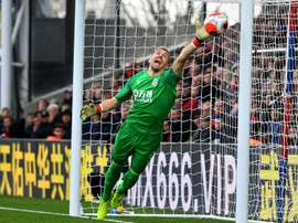 Ben Foster has extended his Watford contract. AFP