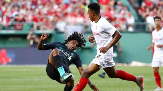 Liverpool fall 2-1 to Sevilla in Fenway friendly