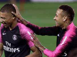 Papin prefers Mbappe over Neymar. AFP