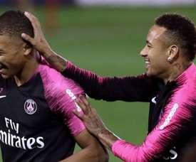 Ander Herrera prend position pour Neymar et Mbappé. AFP