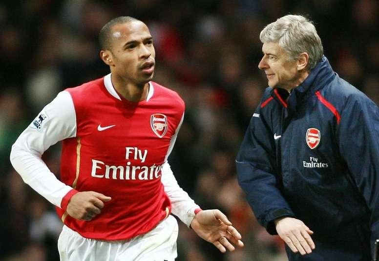 Hnery rememoró su regreso al Arsenal. AFP