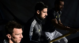 Khedira's season has been peppered with injury. AFP