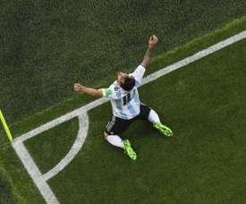 Argentina eriza la piel con el regreso de Messi a la Selección. AFP