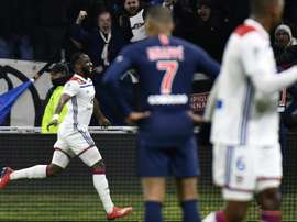 Dembele stars as Lyon end PSG's unbeaten run. AFP