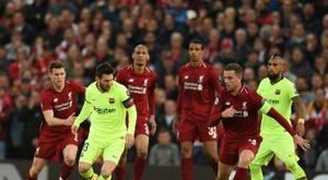 Aspiazu ricorda la sconfitta contro il Liverpool. AFP