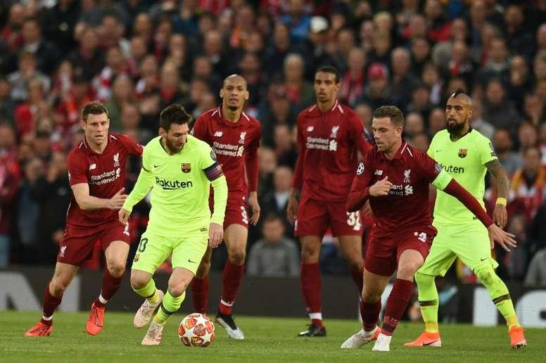 Toca dar carpetazo a Roma y Anfield. AFP