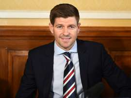 Rangers boss Steven Gerrard is in a rush for new signings. AFP