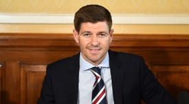 Gascoigne was Gerrard's inspiration. AFP
