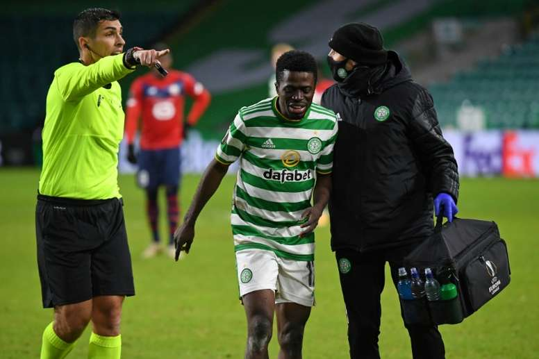 Celtic have admitted it was a bad idea to go to Dubai. AFP