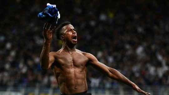 Baldé could go to Valencia. AFP