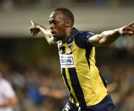 El sueño de Bolt parece apagarse. AFP
