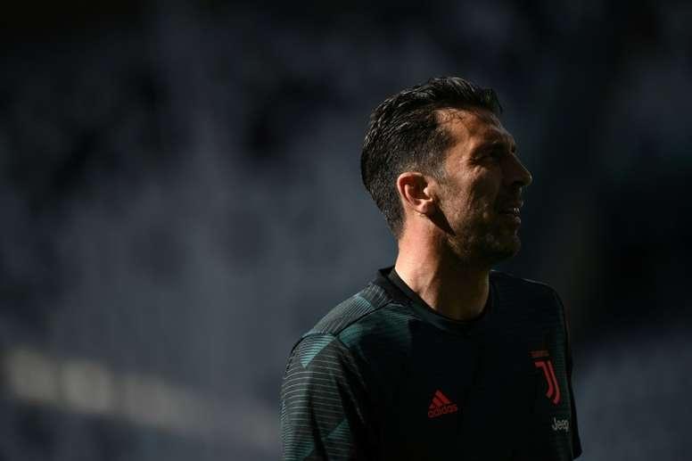 Sarri a rendu hommage à son gardien de la Juventus. AFP